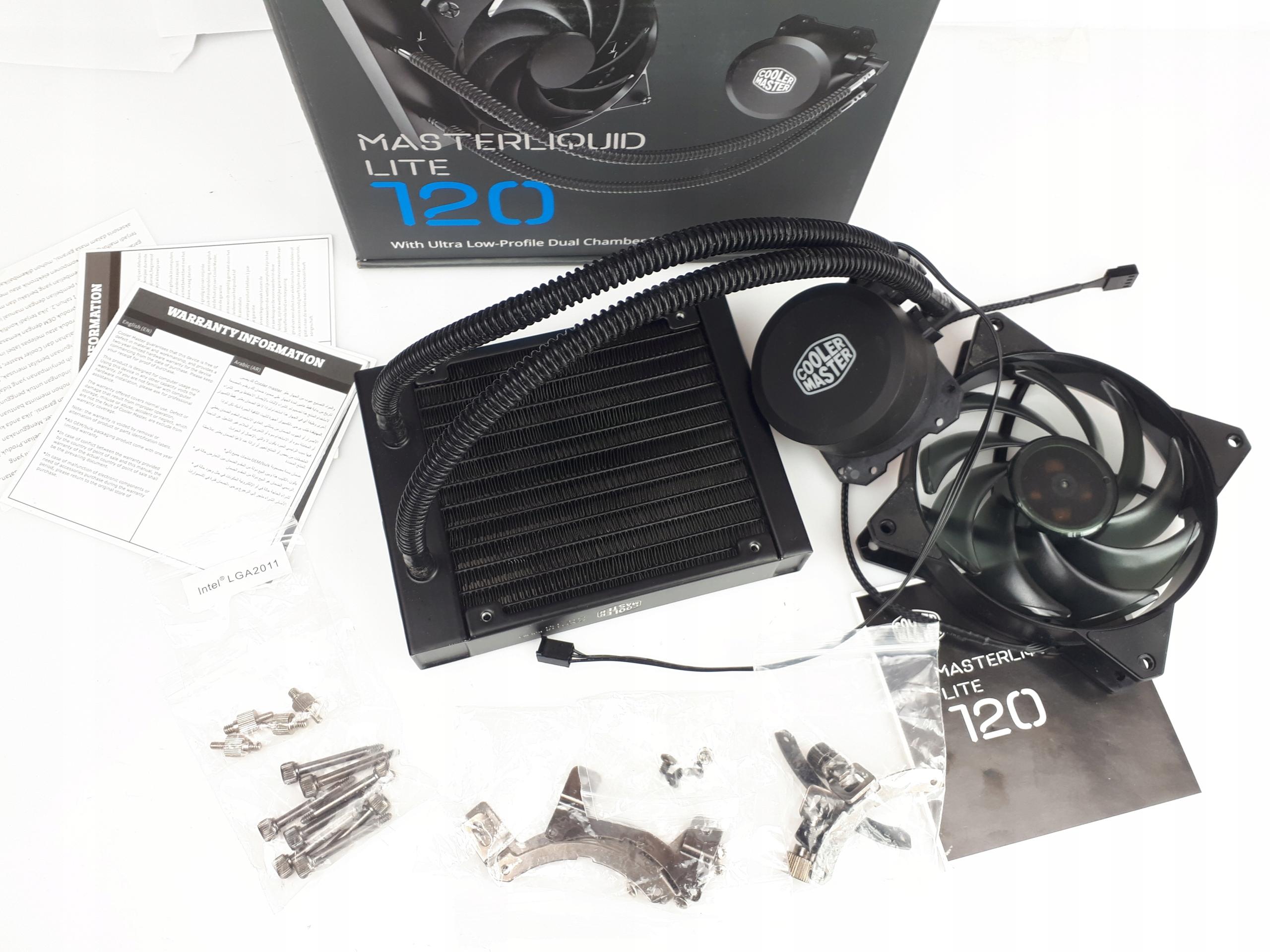 D1 Cooler Master MasterLiquid Lite 120