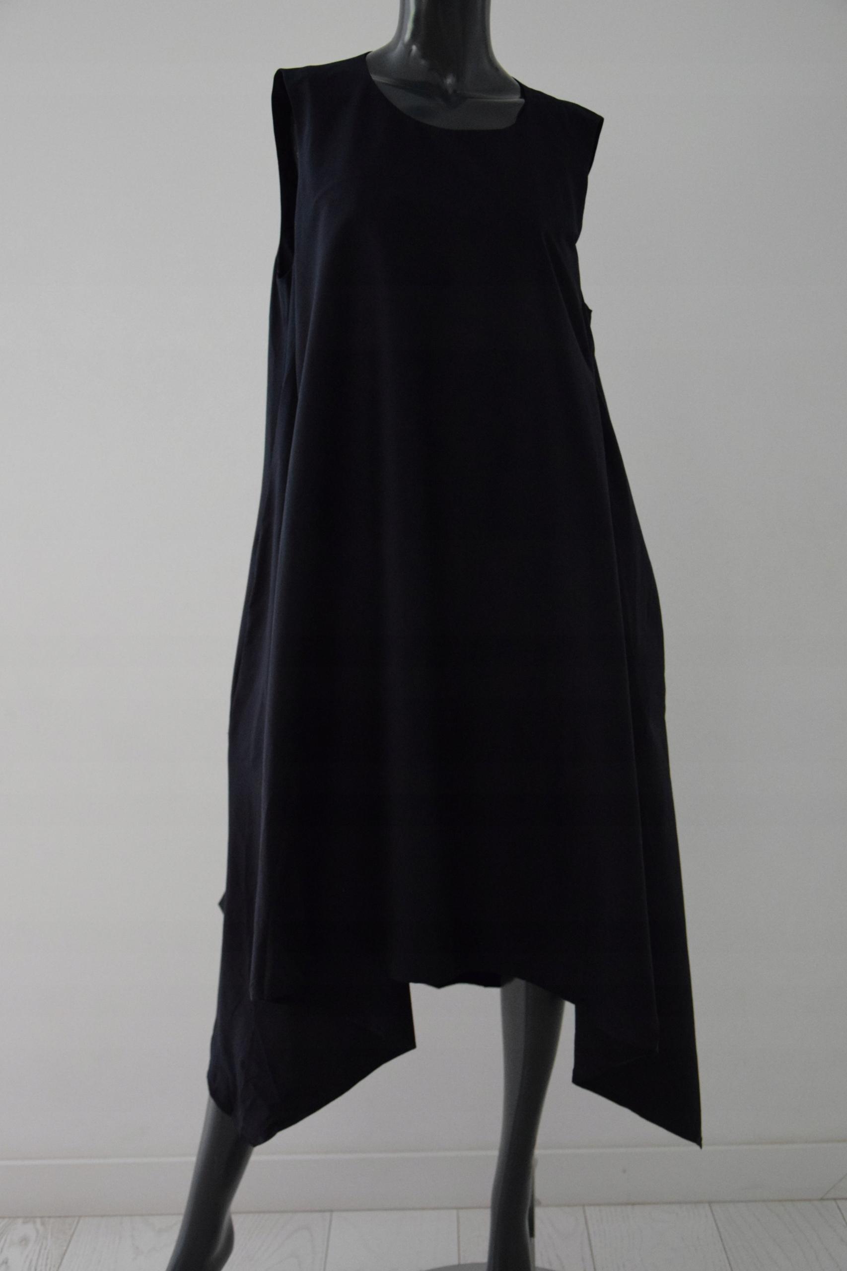 cos granatowa sukienka asymetria oversize r.42/44