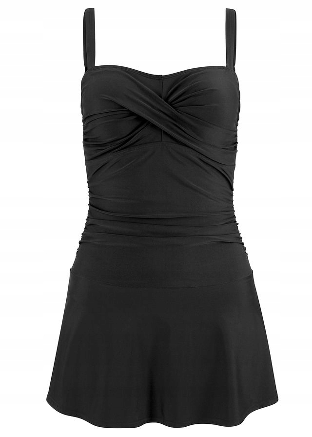 Sukienka kąpielowa czarny 48 4XL 918433 bonprix