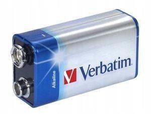 BYD - Verbatim Bateria 9V R9 6LR61 (1szt. blister)