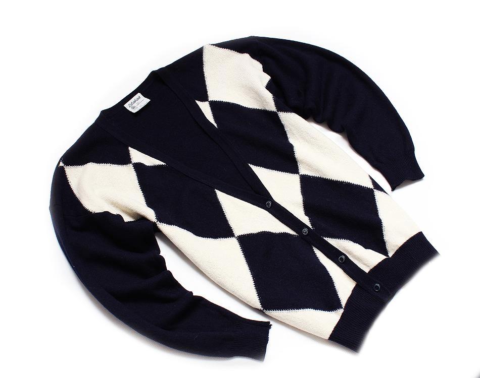 DEBENHAMS Świetny Sweter Zapinany 100% WEŁNA M/L