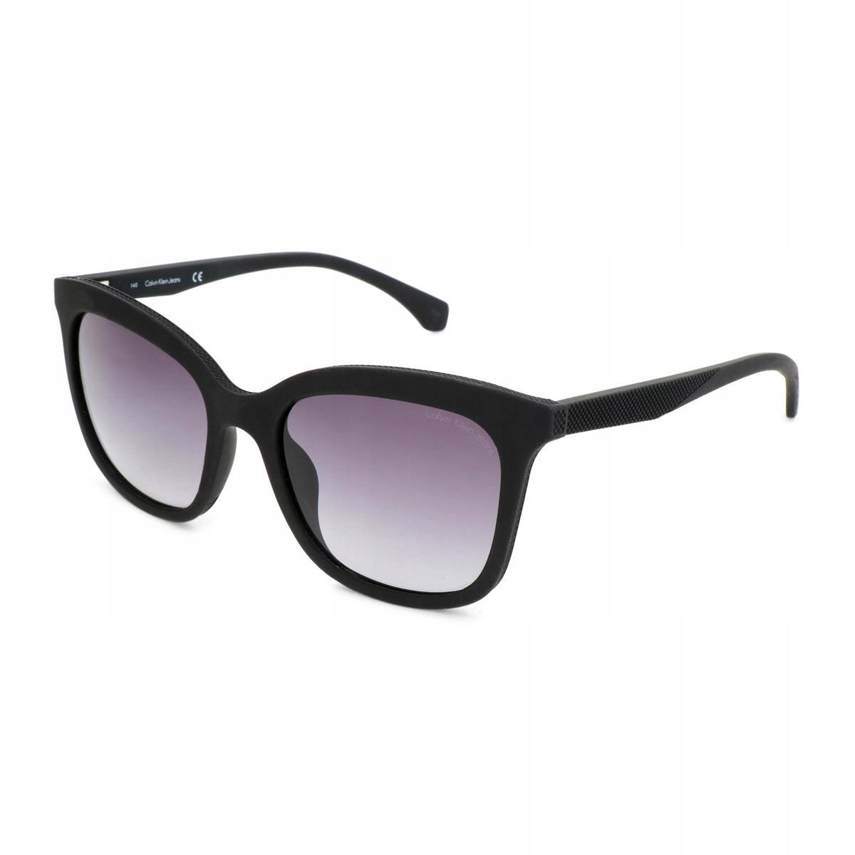 Calvin Klein damskie okulary słoneczne czarny