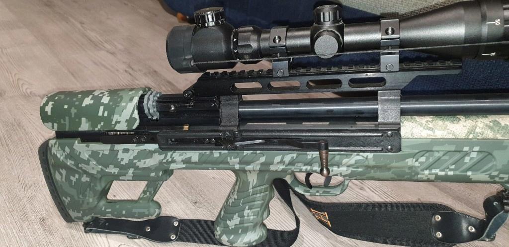 Hatsan BULLBOSS M2 CAMO 4,5mm