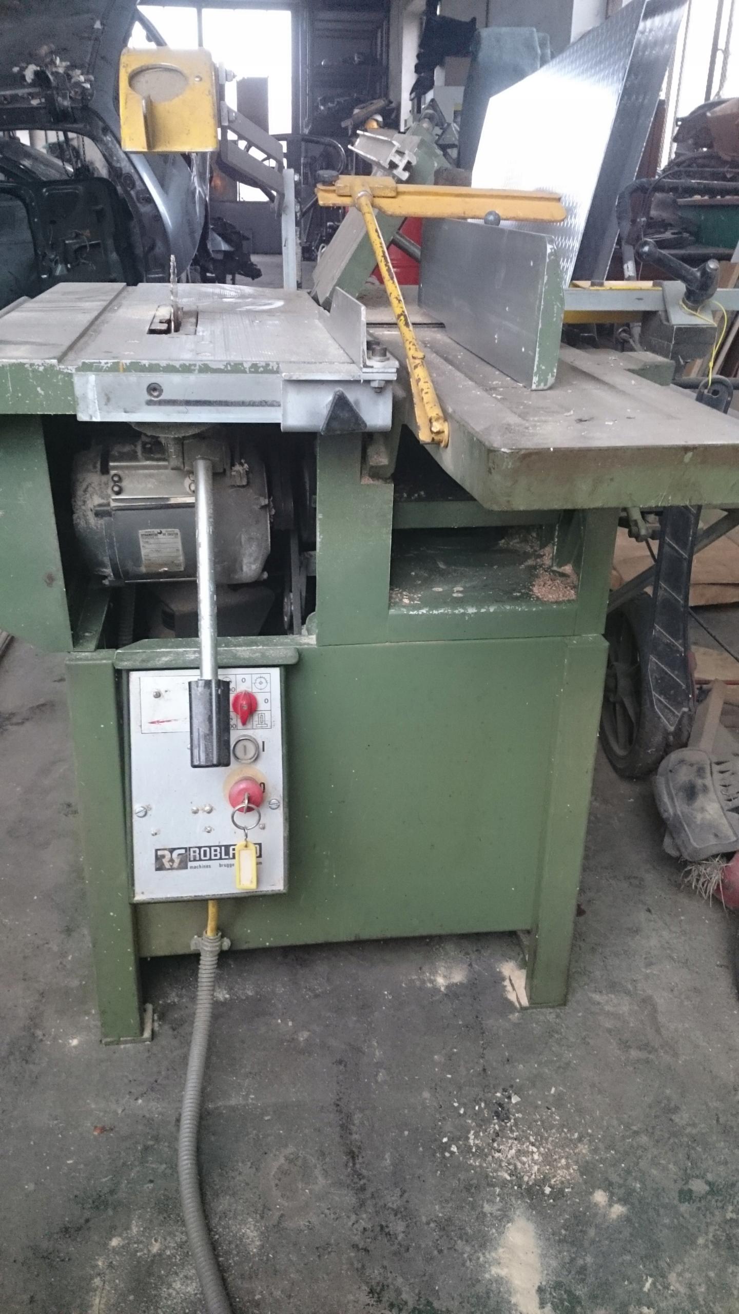 Maszyna do obróbki drewna Robland 5w1