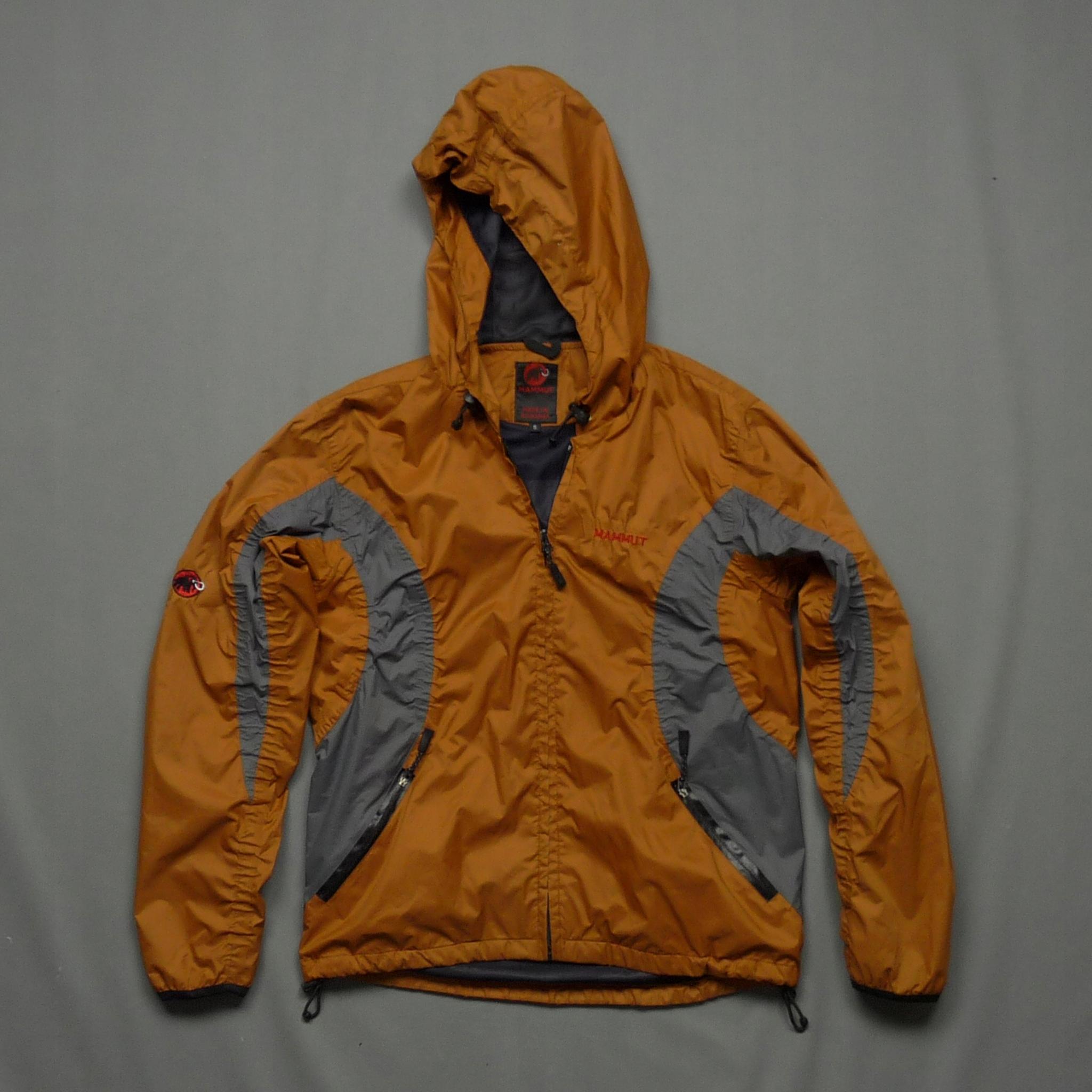 MAMMUT przeciwdeszczowa kurtka wiatrówka z logo S