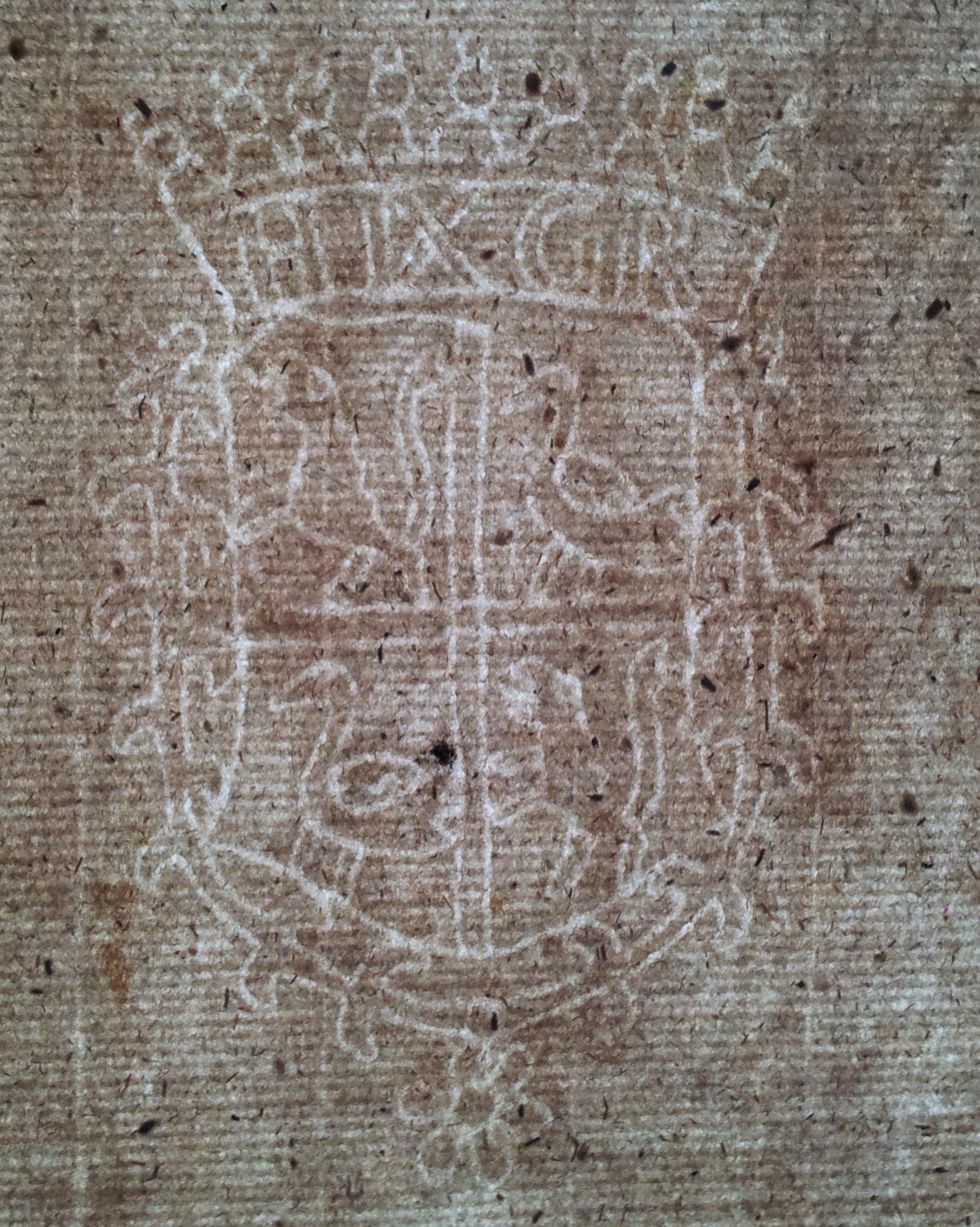 Papier XVIII w. von Reuss Przemków Primkenau 58