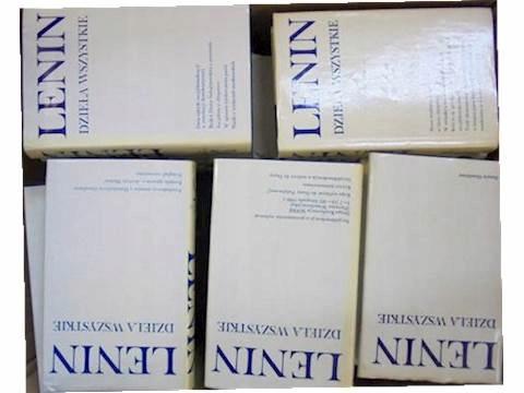 Dzieła wszystkiex45 1,2,4,5,7-14,16-20,22-49 Lenin