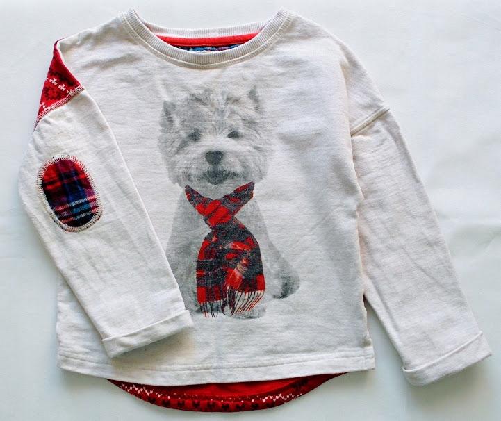 *NEXT*śliczna bluza PIESEK roz.110