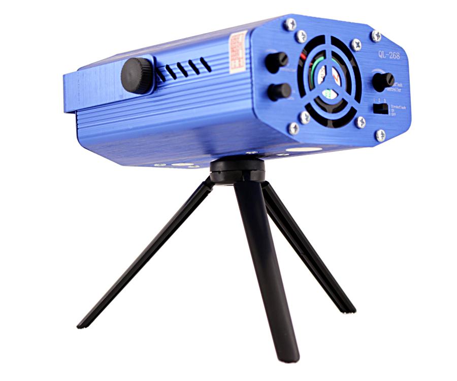 Projektor Oświetlenie 3D Czujnik Muzyki 2 Kolory