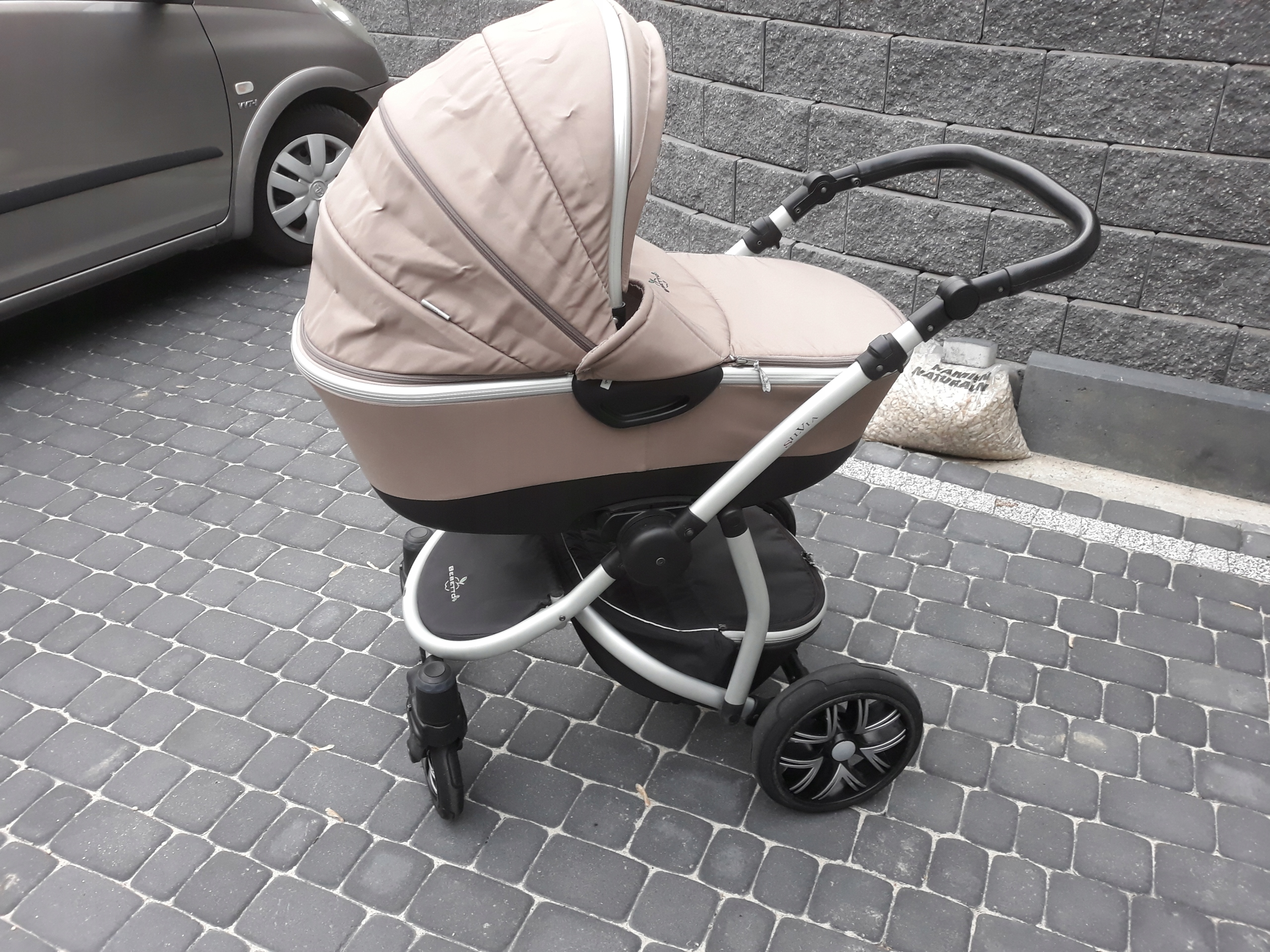 Wózek Silvia, CabrioFix, HUŚTAWKA ADBOR N1