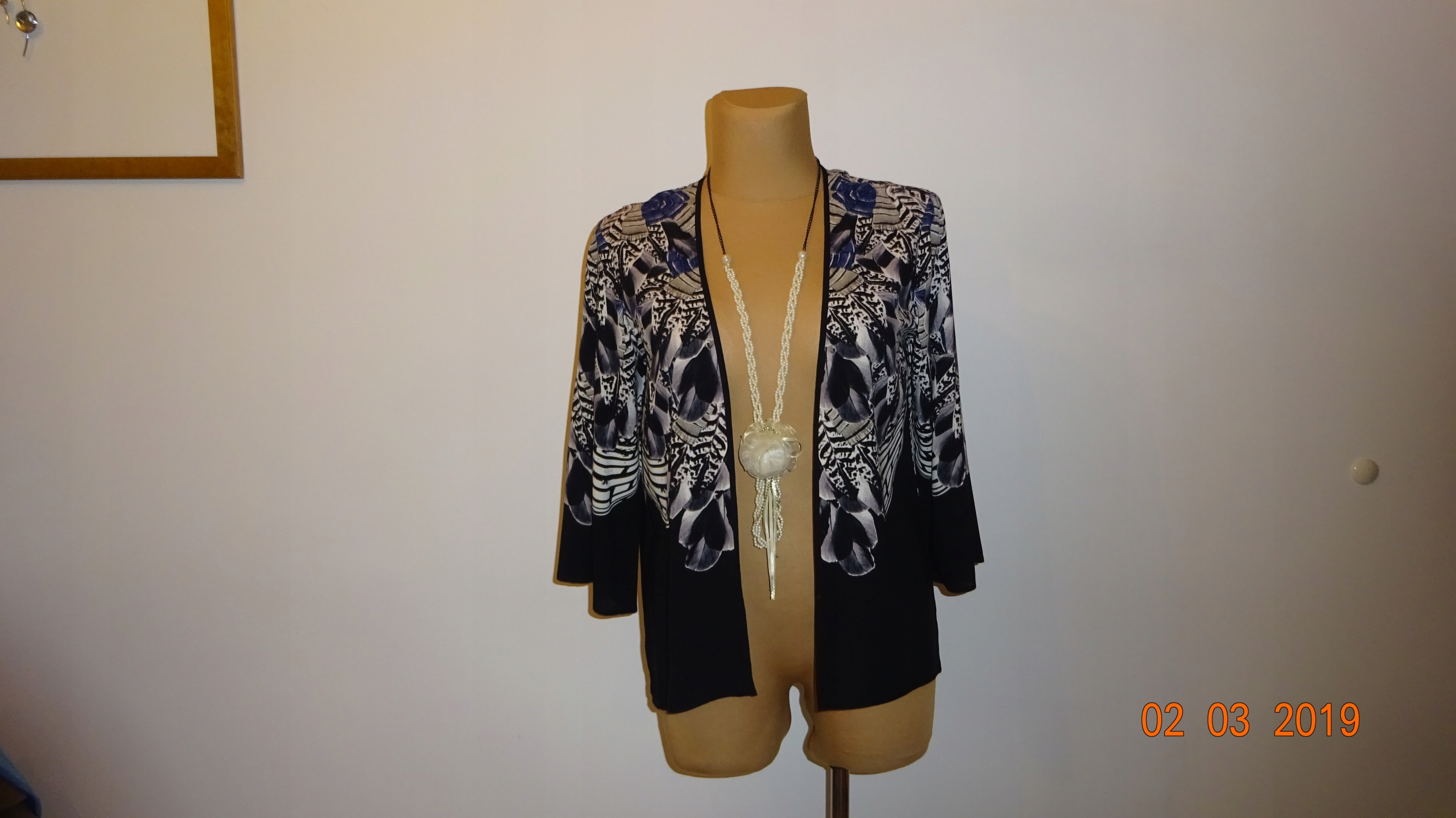 WAREHOUSEł bluzka/narzutka ideał dla XL