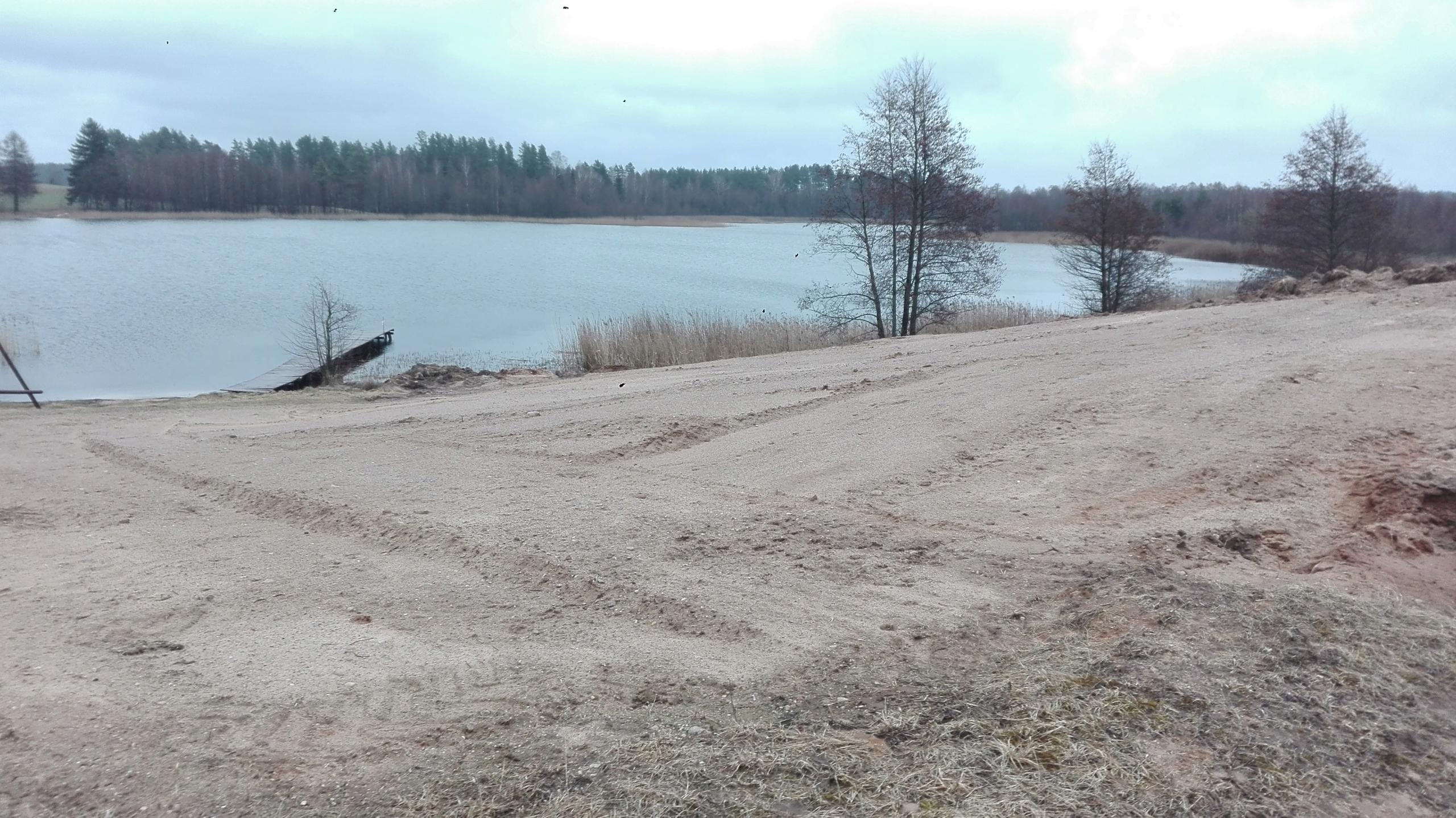 Działka Rolna Nad Jeziorem 1500 m2