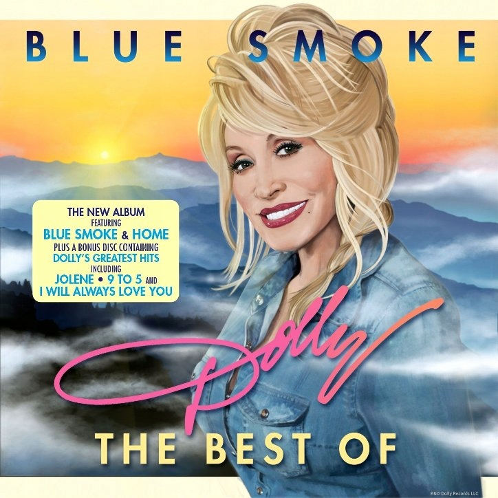 DOLLY PARTON Blue Smoke The Best Of COUNTRY 2CD