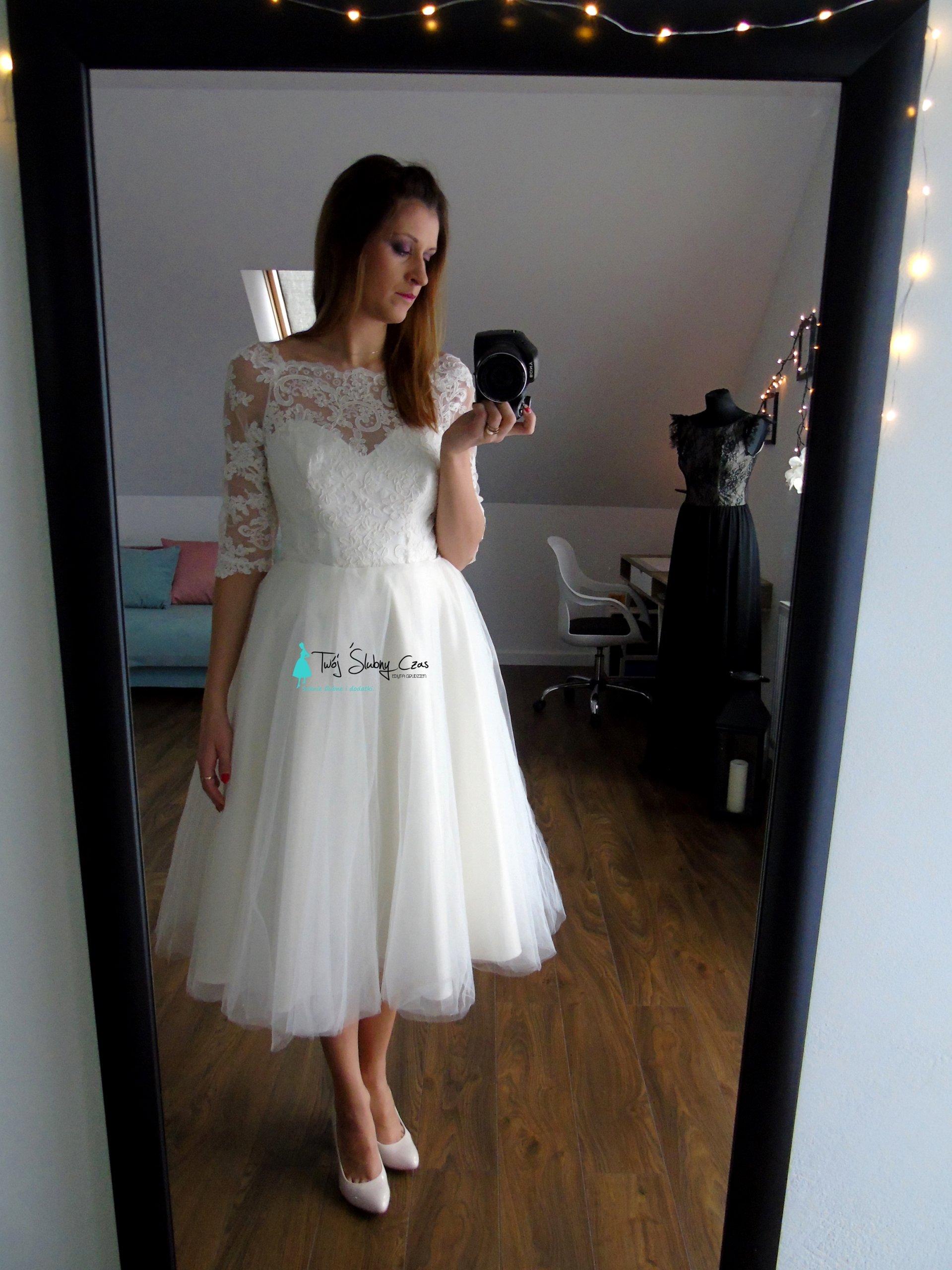 Krótka Suknia ślubna Nowy W Oficjalnym Archiwum Allegro Archiwum Ofert