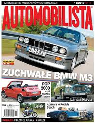 11/2017 AUTOMOBILISTA FIAT 126P KABRIO BMW M3