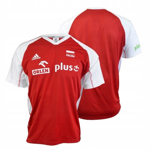 Koszulka Adidas MT VB FO O04644-CZERWONA M
