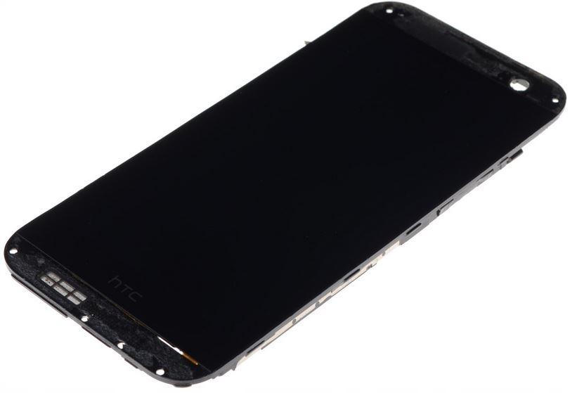 WYŚWIETLACZ LCD DOTYK SZYBKA RAMKA HTC ONE M8 ORYG