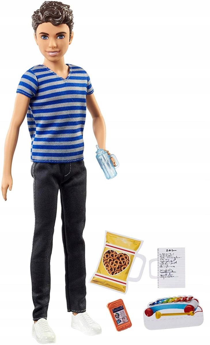 Mattel Barbie Opiekun dziecięcy FHY89 FNP43