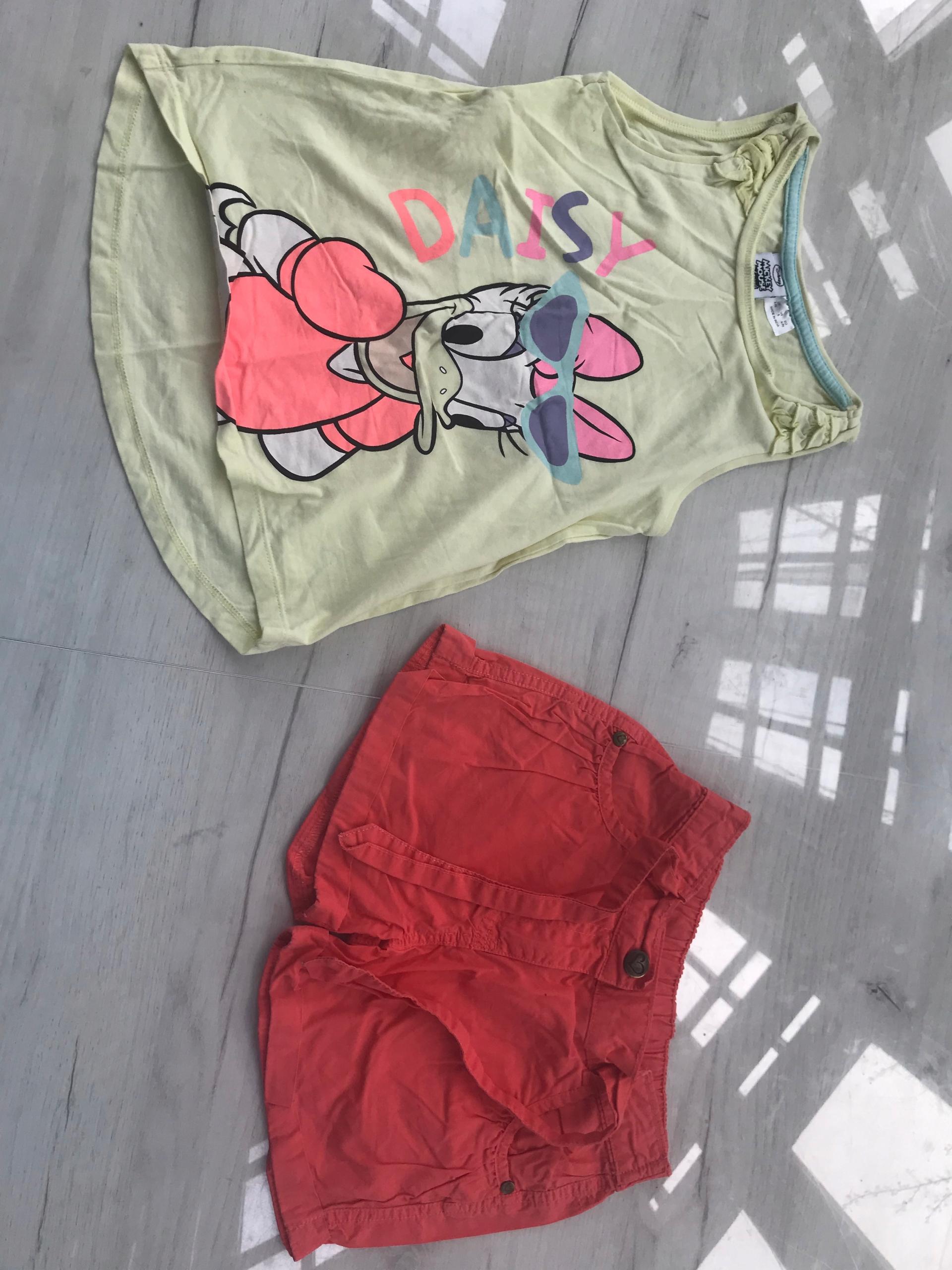GEORGE spodenki + koszulka DISNEY MINNIE 110