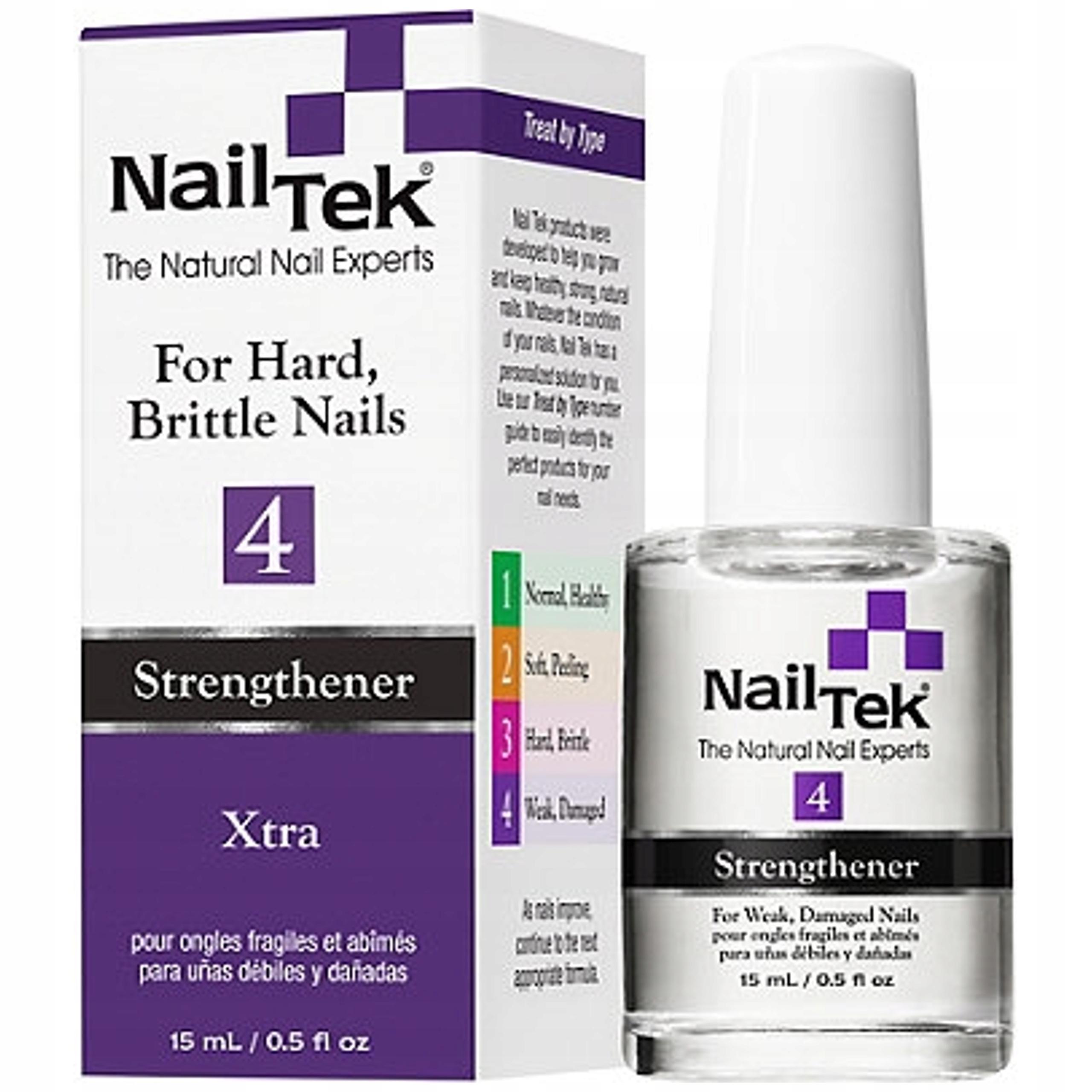 Nail Tek XTRA 4 mocna odżwyka do cienkich paznokci