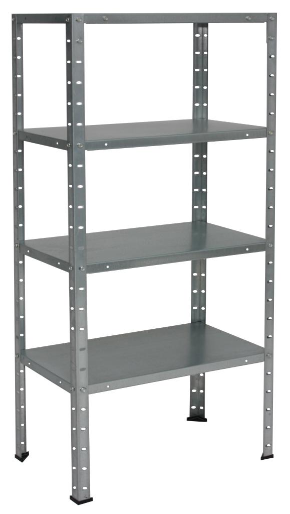 Regał Metalowy Do Piwnicy 120x50x30 4 Półki 50kg