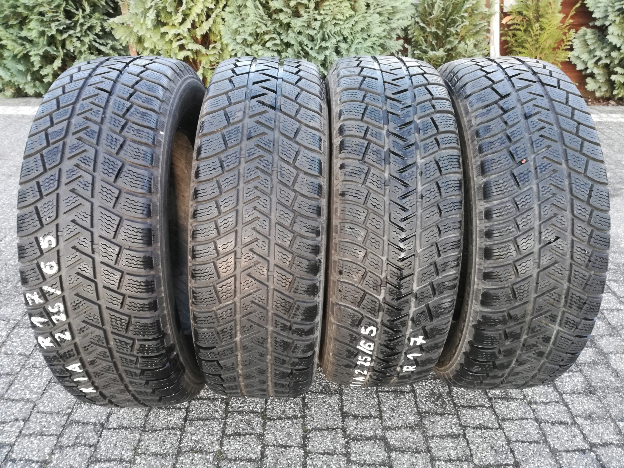 225/65 R17 Michelin Latitude komplet