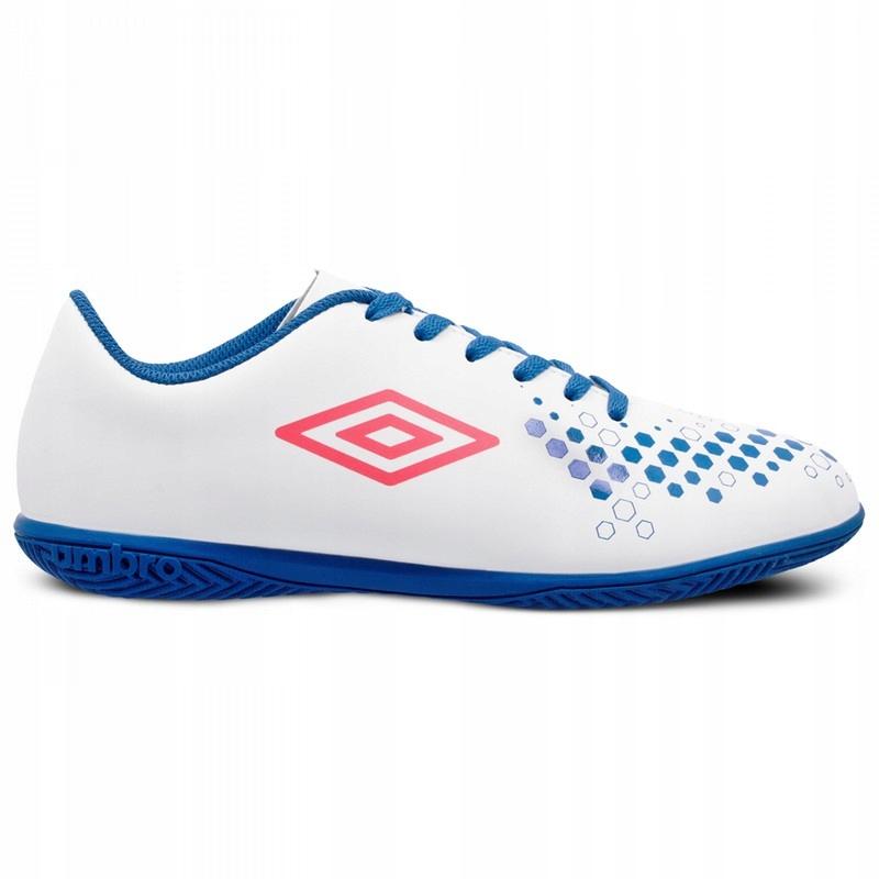 UMBRO (44,5) ACCURE IC buty halowe halówki białe