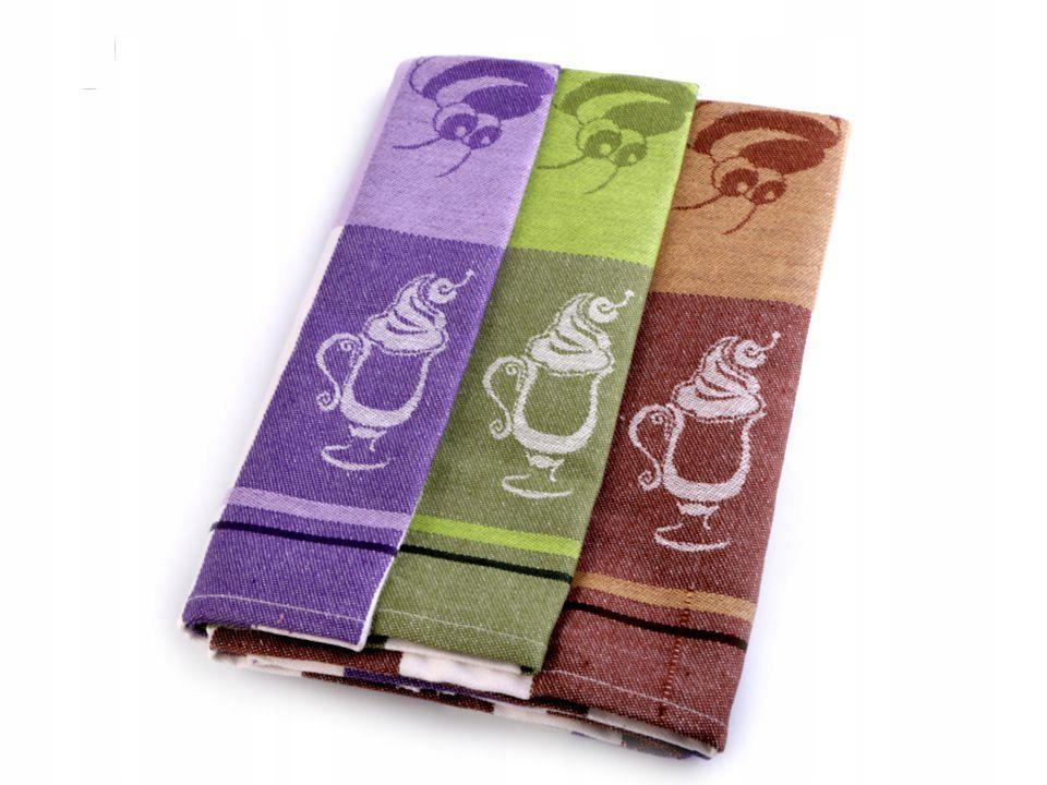 Ściereczki bawełniane 50x70 cm 3szt