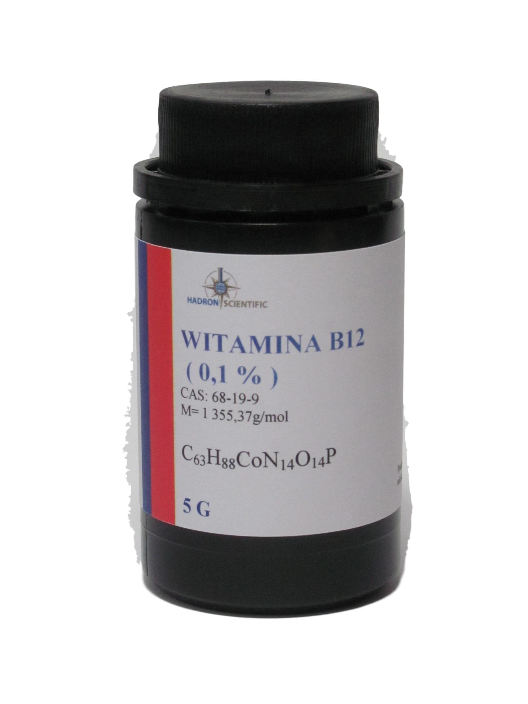 WITAMINA B12 ( CYJANOKOBALAMINA ) 0,1% - 5G