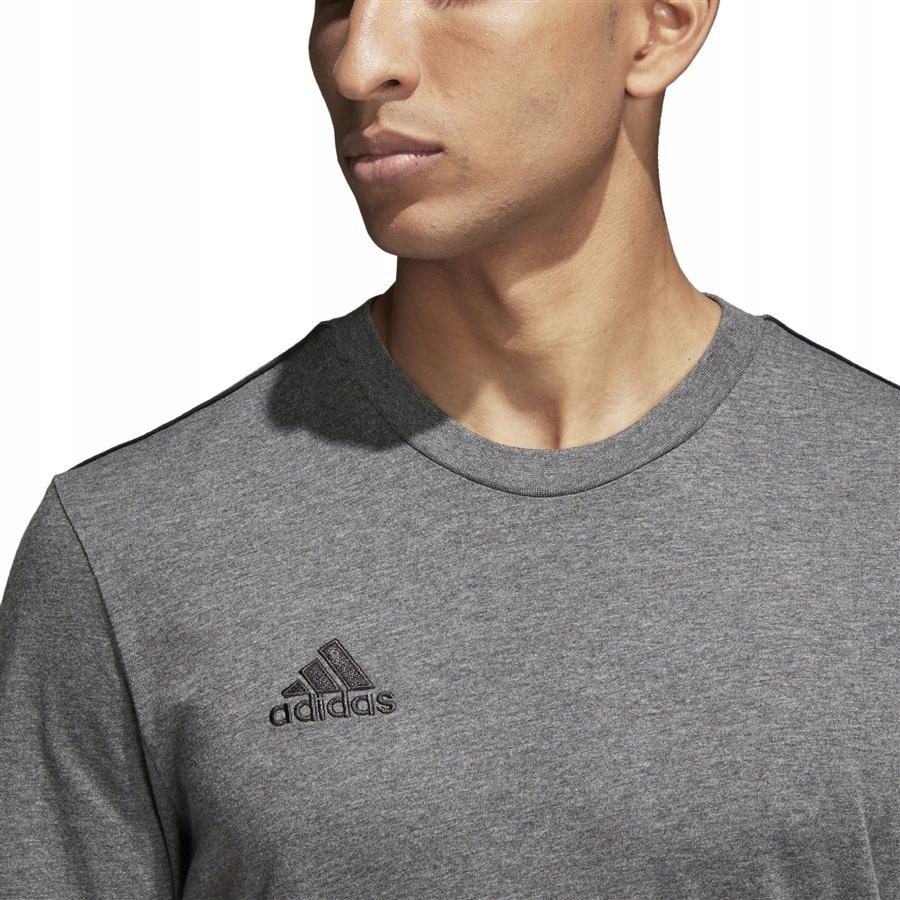 Koszulka adidas Core 18 CV3983 XS szary!
