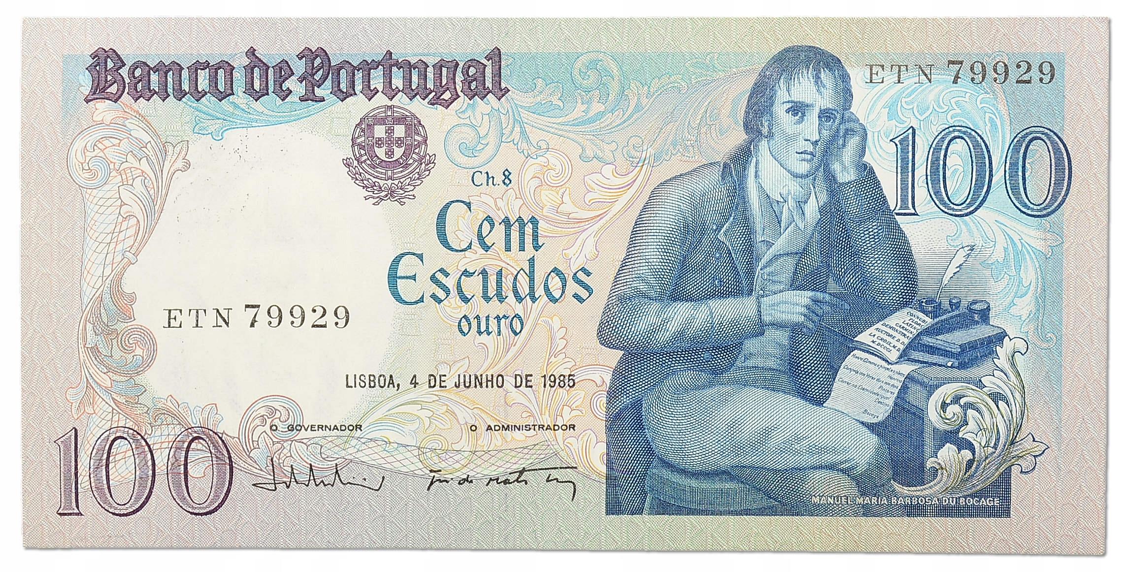 32.Portugalia, 100 Escudos 1985, P.178.d, St.1-