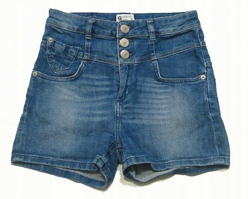 rozm. 10/11 lat, spodenki jeans, bdb