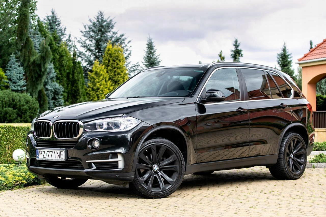 BMW X5 Salon PL. 100% pierwszy lakier. Serwis ASO.