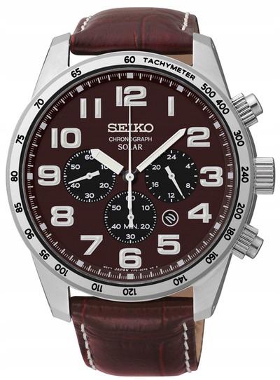zegarek SEIKO Solar SSC227P1 GWARANCJA prezent