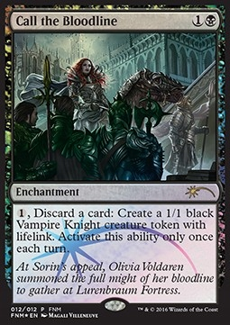 Call the Bloodline - Friday Night Magic Promos