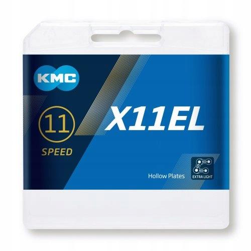 KMC łańcuch X-11-EL X11EL czarny 11rz 118ogniw