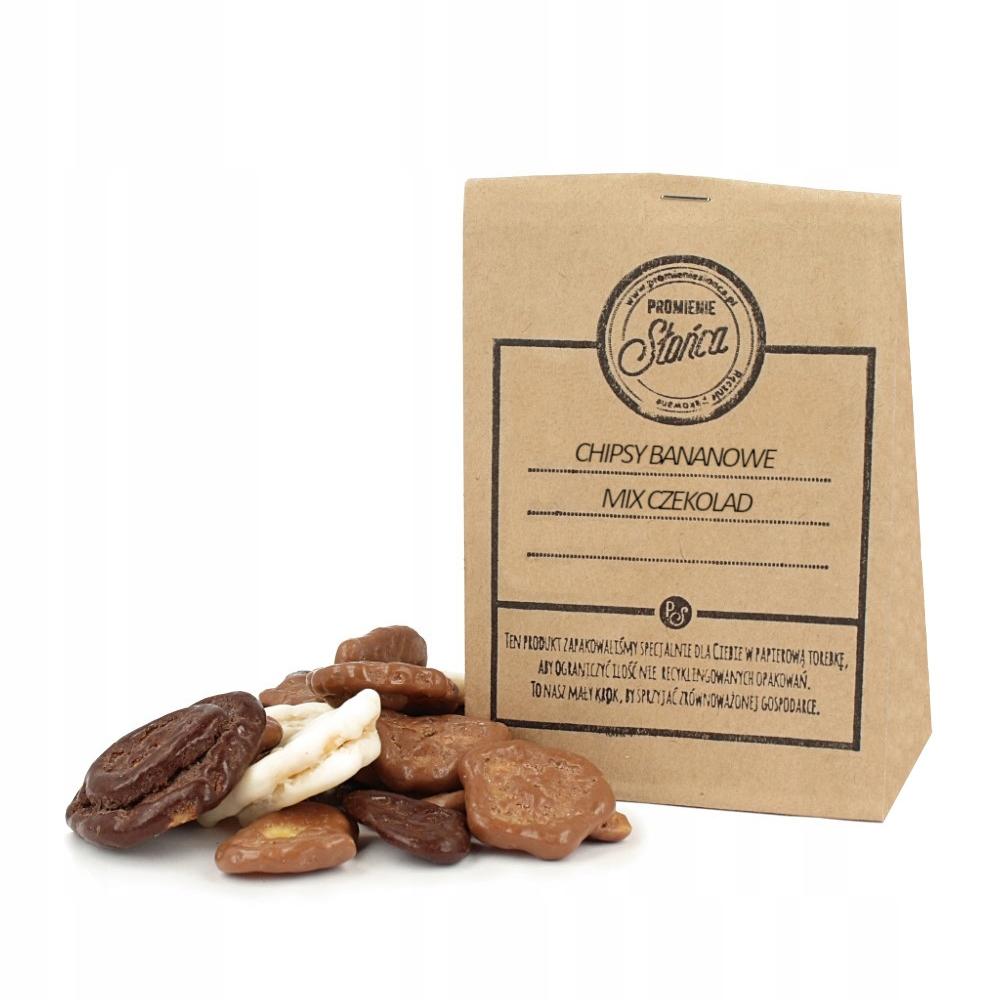 Chipsy bananowe mix czekolad 1000g - SUPER JAKOŚĆ
