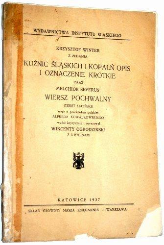 Kuźnic śląskich I Kopalń Opis Winter 1937 6746373356