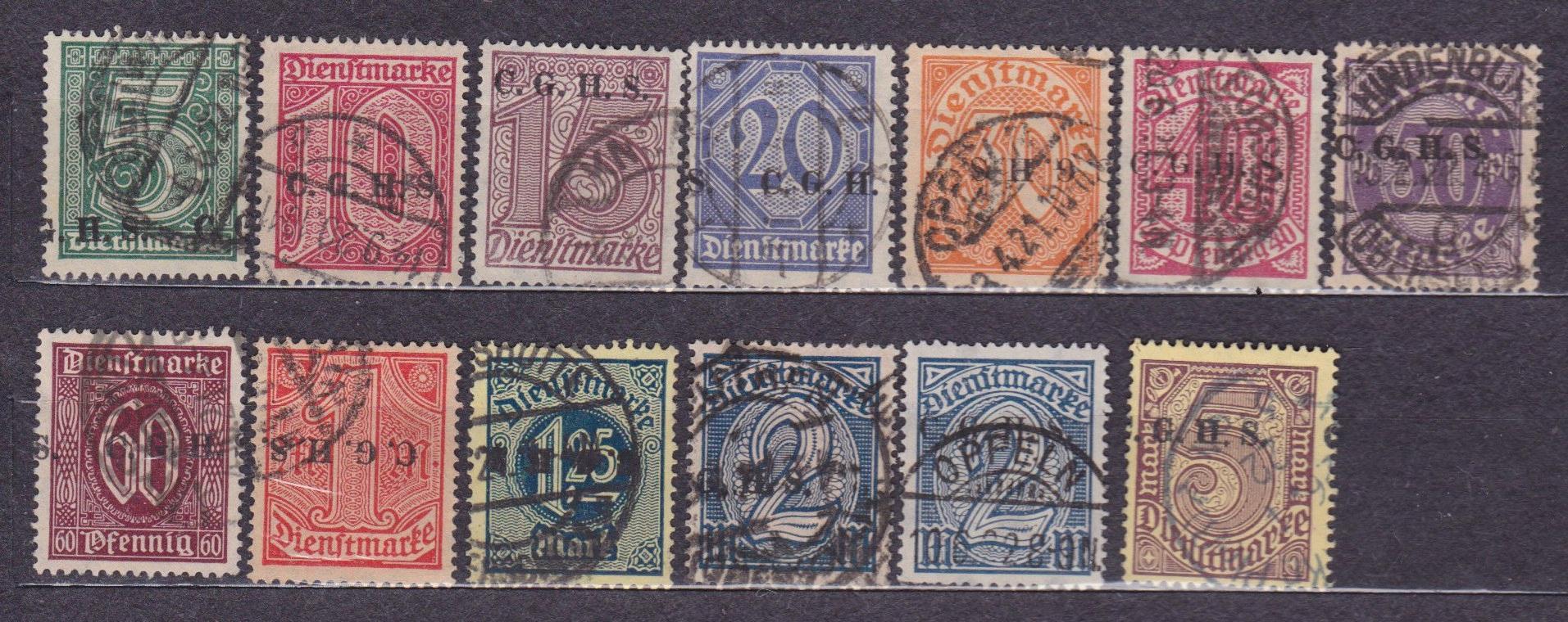 Plebiscyty - 1920, Górny Śląsk, Fi U8 - 20, kasowa