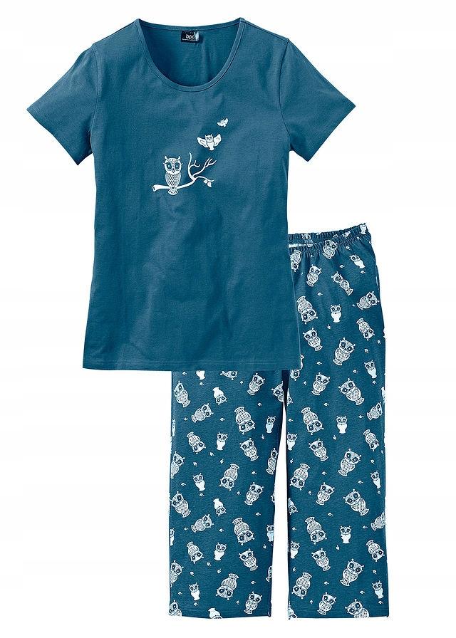 Piżama z krótkim r zielony 52/54 6XL/7XL 974927