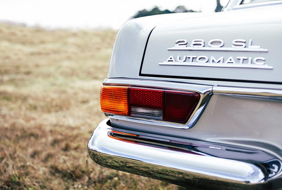Mercedes 280SL Automatic Plakaty 185x125 Na wymiar