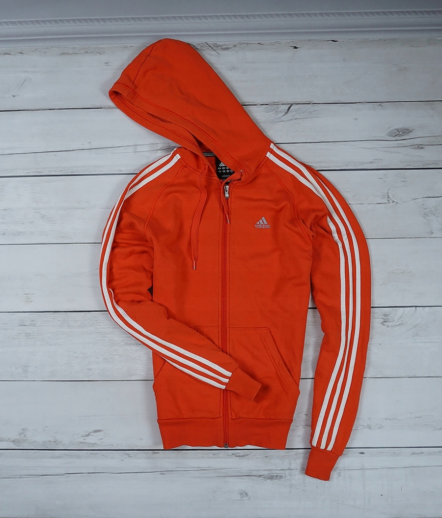 fe00a1d37 ADIDAS _ BLUZA ORANGE _ S _ KANGUREK MODEL 2019 - 7583250357 ...