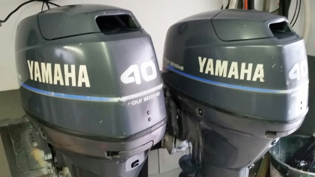 SILNIK ZABURTOWY YAMAHA F 40
