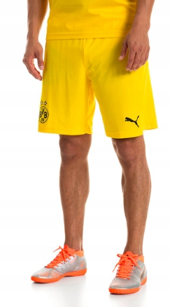 PUMA Spodenki treningowe BVB Borussia Dortmund L