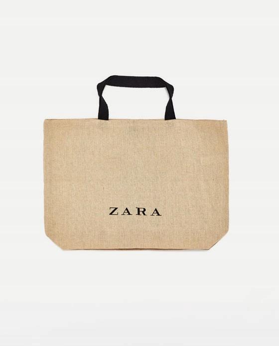 ZARA* SHOPPER BAG* TORBA JUTOWA* IT BAG* BLOG