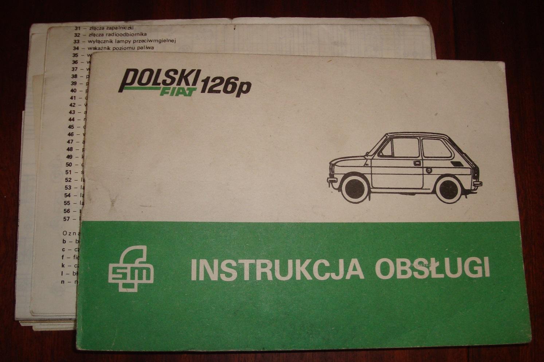 Instrukcja obsługi Fiat 126p schematy