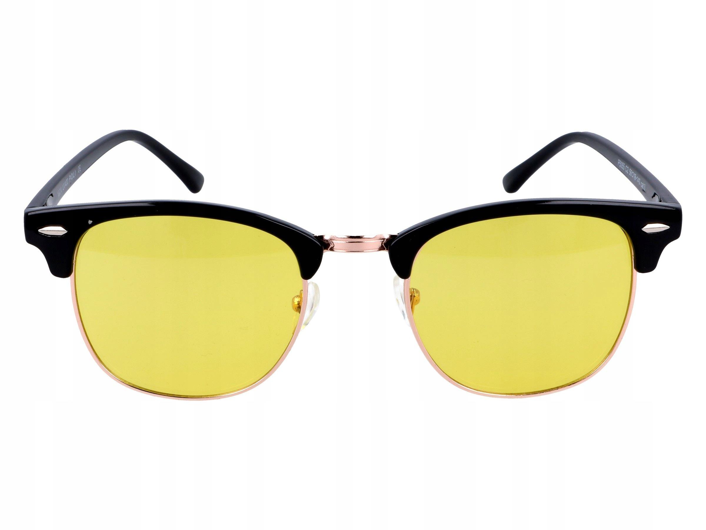 Okulary dla kierowcy rozjaśniające do jazdy nocą