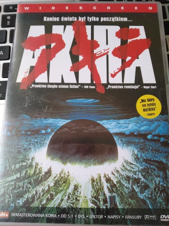 Akira anime DVD Pl