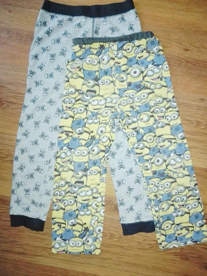 Spodnie piżama 2 szt. 116 / 122 - 5 / 6 lat