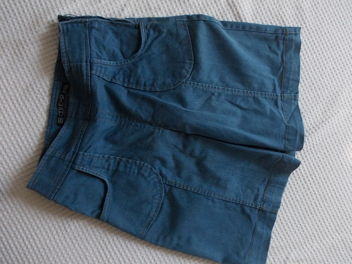 ZARA spodnica trapezowa jeans r.38